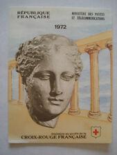 TIMBRES LOT CARNET CROIX ROUGE FRANCAISE 1972