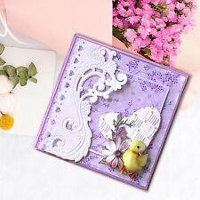 Flower Border Cutting Dies Stencils Scrapbooking Embossing DIY Paper Cards Craft