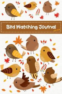 Bird Watching Journal For Kids: Cute Birds Children Record Notebook Bird Log 3