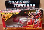 1987 Transformers Original G1 Scattershot Complete + Box, Bubble & Inserts