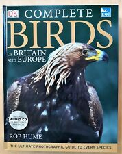 RSPB COMPLETE BIRDS OF BRITAIN AND EUROPE WITH AUDIO CD - HARDBACK 2010
