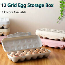 New listing 12 Grid Kitchen Egg Storage Box Refrigerator Egg Storage Container Egg Protector
