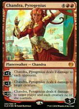 Chandra, pyrogenius foil | nm | kaladesh | Magic mtg