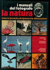 IZZI MEZZATESTA I MANUALI DEL FOTOGRAFO LA NATURA MONDADORI 1979
