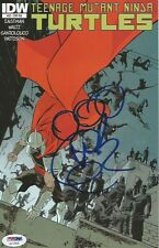 Vanilla Ice Teenage Mutant Ninja Turtles Signed Comic Book #22a PSA/DNA COA