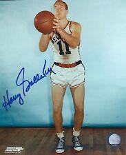 Signed  8x10 HARRY GALLATIN New York Knicks Autographed Photo - COA