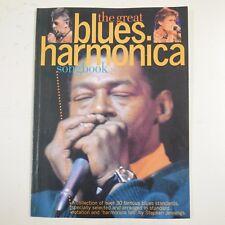 THE GREAT BLUES HARMONICA SONGBOOK stephen jennings