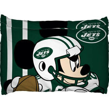 New York Jets Disney's Mickey Mouse Pillow Case Set Pillowcase Kids Bed