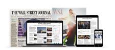 Wall Street Journal 1-YEAR WSJ Print & Digital Subscription *STARTS IN 5 DAYS*