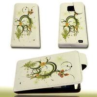 Design 3 Handy Flip Tasche Cover Case Hülle Etui für Samsung i9100 Galaxy S2