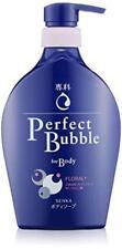 Shiseido SENKA Perfect bubble body wash 500ml From Japan