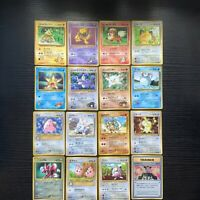 Pokemon Vintage Promo Cards. x16 Glossy Cards. USA SELLER