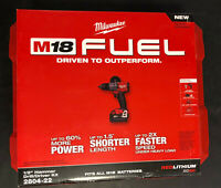 Milwaukee 2804-22 - M18 Fuel Hammer Drill Kit 1/2-Inch Lithium-Ion Brushless NEW