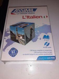 Assimil L Italien Sans Peine Niveau Atteint B2 Neuf Sous Blister