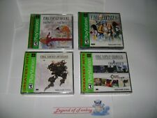 New  Final Fantasy - Origins +  Anthology + Chronicles + IX 9  ps1 PlayStation 1