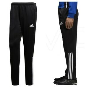 Adidas Mens Tracksuit Bottoms Regista Sports Football Training Track Pants Black