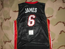 Lebron James Signed Autographed Jersey Miami Heat Global cert