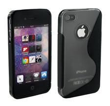Custodia Protettiva In Silicone Gel Nero S ~ Apple iPhone 5 / 5S / SE