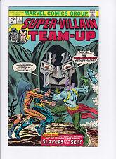 Super Villian Team-Up #1 F/Vf
