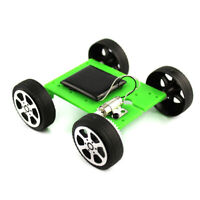 DIY Assemble Toy Set Solar Powered Car as Science Educational Kit For Kids