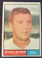 1961 Topps Baseball Card Russ Nixon #53 Set Break Nrmt-Mint Range Free S&H