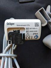 Drager MCable-Mainstream CO2 Capnostat Capnograh 6871950-11 for Evita V500