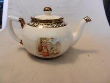 Arthur Wood Ceramic Tea Pot Old Chelsea Scenes from England #396G