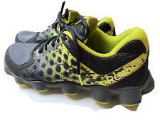 Reebok ATV 19 Running Shoes Mens size 10 Black/Grvl/Green/Yellow