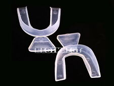 2 TOOTH TEETH WHITENING TRAYS THERMOPLASTIC MOUTH TRAY SGP