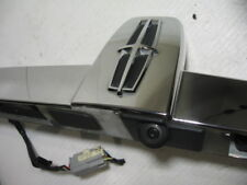 2009-2012 LINCOLN MKS Trunk Chrome Trim Emblem Panel Backup Camera license lamps