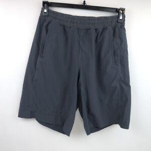 "Lululemon Mens Gray Stretch Shorts Size Medium 10"" Inseam"