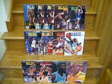 Lot of 13 Beckett 1991-1996 Basketball Card Monthly Magazines Magic Bird Jordan