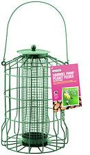 GARDMAN GUARD BIRD PEANUT FEEDER SQUIRREL PROOF GARDEN HANGING TRAY A01621
