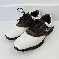 NIKE Men's Golf Shoes US Size 9.5 Black/White/Brown