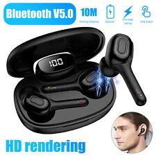 Tws Wireless Bluetooth 5.0 Headset Dual Headphones Stereo Bass Earphones Earbuds