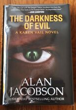 "SIGNED ""Darkness of Evil"" by Alan Jacobson NEW Limited Numbered Edition Book BC"