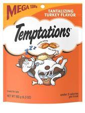 🐱Temptations Turkey Flavor Jumbo Stuff Cat Treats 6.3 oz 🐱