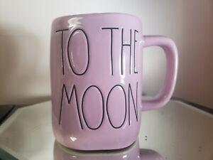 Rae Dunn Purple Lilac To The Moon And Back mug New HTF