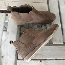SDS Stiefeletten Stiefel Gr. 38 Schuhe braun Creme Damen