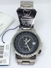 J Springs Mechanical Automatic Mens Stainless Steel Watch Made in Japan BEA009
