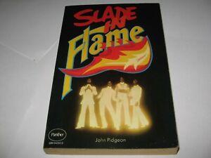SLADE IN FLAME by JOHN PIDGEON (1975) Rock Group Movie PB Tie-In   Excellent 1st