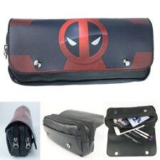 Pen Bag Deadpool Pencil Case Marvel Comics Cosmetic Make Up Bag Storage Pouch Nw