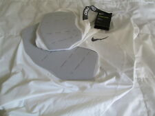 NEW Mens Nike Pro Hyperstrong 4 Pad Compression Football Shirt Wht Md FREE SHIP