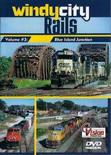 Windy City Rails Volume 3 - Blue Island Jct BNSF CRL IAIS IHB UP C Vision DVD