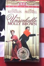 NEW The Unsinkable Molly Brown (VHS, 1964) Debbie Reynolds, Harve Presnell
