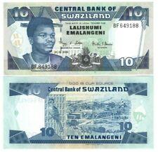 Swaziland eSwatini 10 Emalangeni (2006) P-29c Unc Banknote Paper Money
