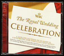 THE ROYAL WEDDING CELEBRATION (2011) - 34 TRACKS - DOUBLE CD ALBUM, NEW - RARE