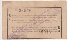 1 Rupie - seltene Abart, Fehldruck dezentriert 1916 Kolonien Deutsch-Ostafrika