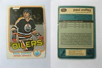 1981-82 OPC O-Pee-Chee #111 Coffey Paul creases   oilers $ 50