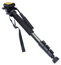 Pro Camera Aluminium Monopod Fluid Video. Head Max Height: 61-inch